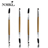 Hot Sale Double End Eyebrow Eyelash Mascara Makeup Cosmetic Brush