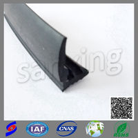building industry ts16949 auto flame resistant car window rubber seal for door window