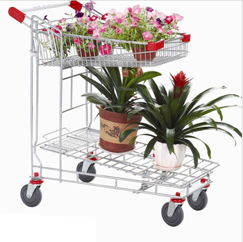 platform truck warehouse trolley for garden