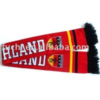 Wholesale Knitting Sports Football Fan Scarf For European Cup
