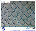 Guangzhou supplier wholesale PVC-coated tennis court chain link fence ZX-GHW01