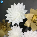 Wholesale party home decorations flower handcraft for wall decoration