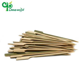 Best wide bbq barbecue bamboo Teppo Gushi-gun skewers