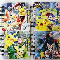 Pokemon Anime Notebook Student Diary Book