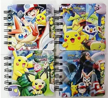 Pokemon anime Notebook Student Diary Book Student kids gifts