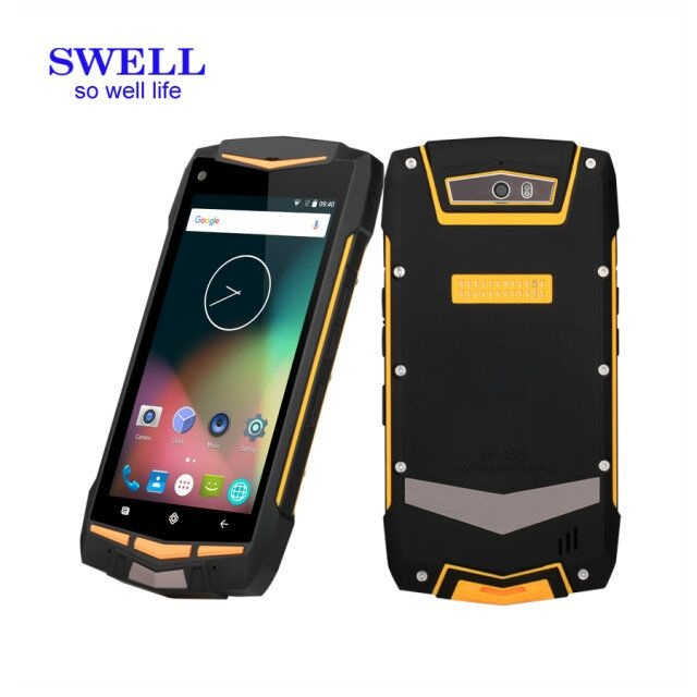 OEM waterproof NFC smart phone android6 IP68 4G smartphone 5inch dual sim V1 laptop without camera