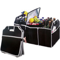 New Black Car Boot Toolbox Foldable Storage Box