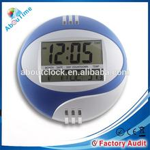 Large LCD Digital Wall Calendar Clocks