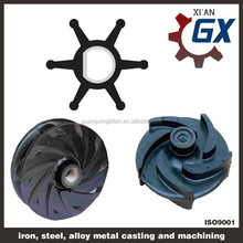 hydraulic pump flexible rubber impeller