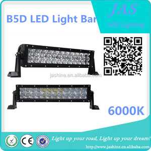 Wholesale popular 72W Double Row 5D led offroad light 13.5 Inch bar led light bar