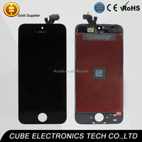 CUBE All test by motherboard for iphone 5 replacement lcd touch screen glass digitizer service for iphone 4 4s 5 5s 5c 6 6 plus