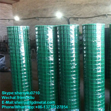 Plastic PVC coated welded mesh panel/6x6 reinforcing welded wire mesh----WMSL235