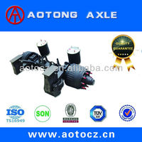 Air suspension for semi-trailer