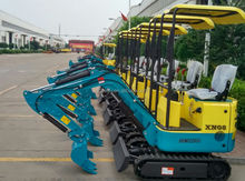 Heavy construction equipment XN08 mini excavator from China