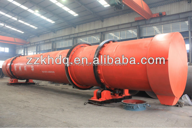Good Performance Cow Manure Rotary Dryer/Cow Dung Drying Machine (Skype: zkbm1998)