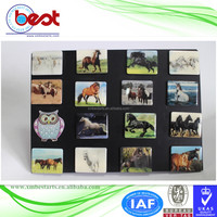 promotional souvenir 3D custom epoxy holiday horse fridge magnet