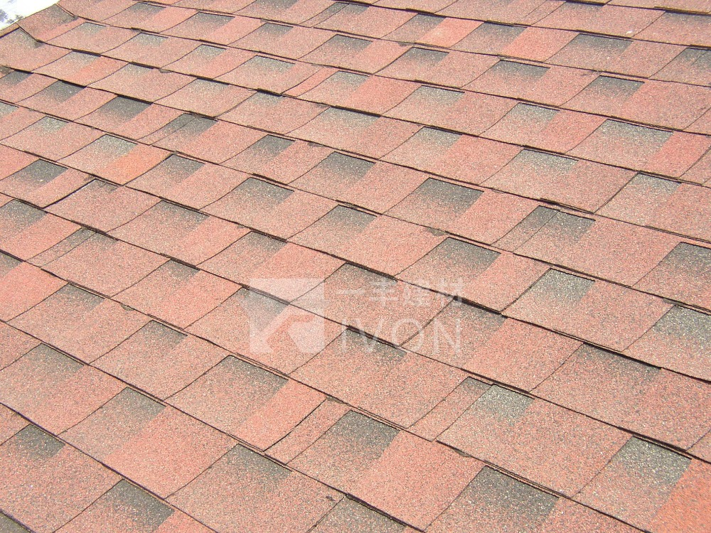 IVON cheap mosaic roof tile ,asphalt shingles price