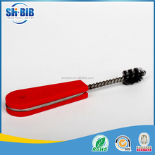 steel wire plastic handle tube brush