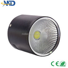 10W COB led downlight 90-277V 3 years warranty Surface Mounted black up down led light
