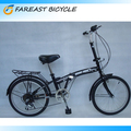 "20"" Inch Folding Foldable Bikes Single Speed Bicycles With Caliper Brake Made in China"