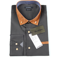 The new style 100% cotton high quality comfortable custom men's shirt 176