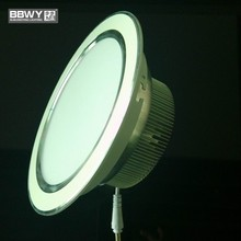 Zhongshan BBWY 2015 laest design aluminum housing dimmable LED downlights