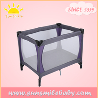 BS5852 fireproof baby daycare travel park bed cot