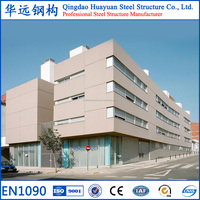 Prefabricated light structural steel office building