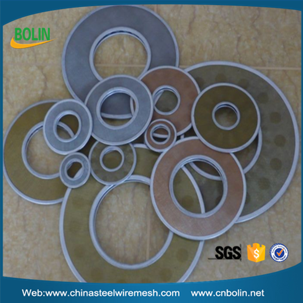 copper stainless steel phosphor bronze metal powder sintered filter disc (free sample)
