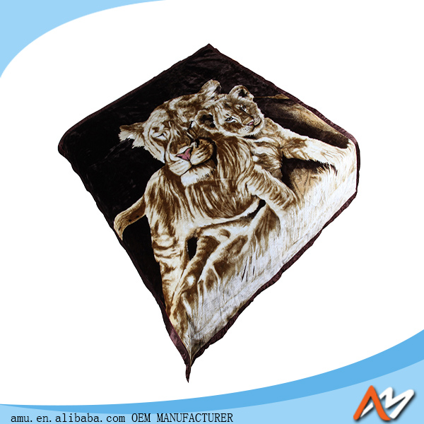 high quality polyester blanket soft blanket polyester knitted blanket manufacturer in China