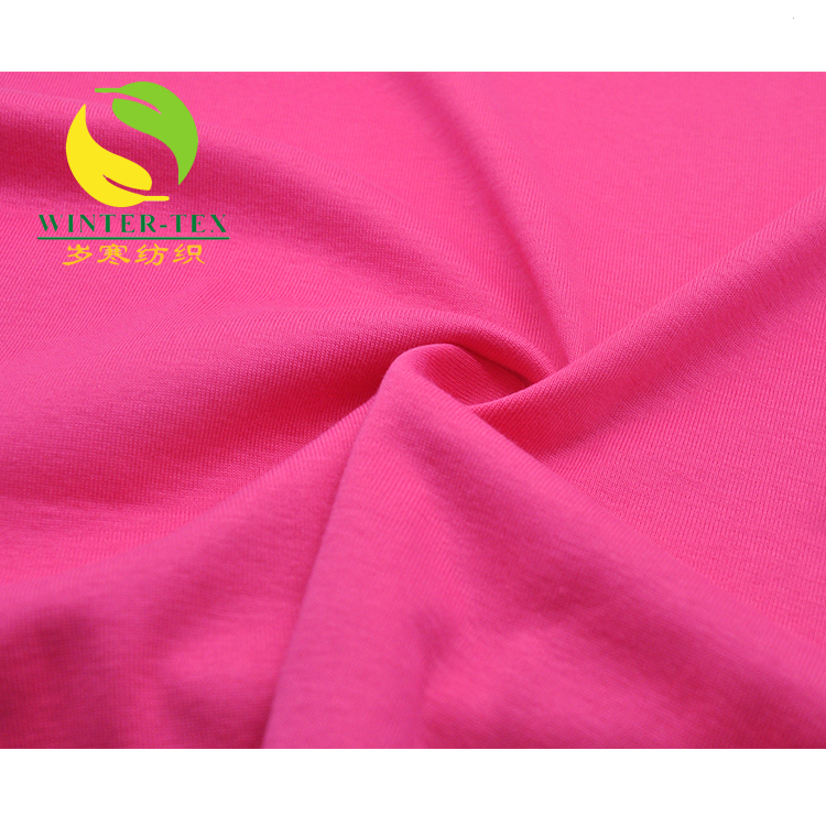 Wholesale 95 polyester 5 spandex fabric hot sale dty stretched fabric