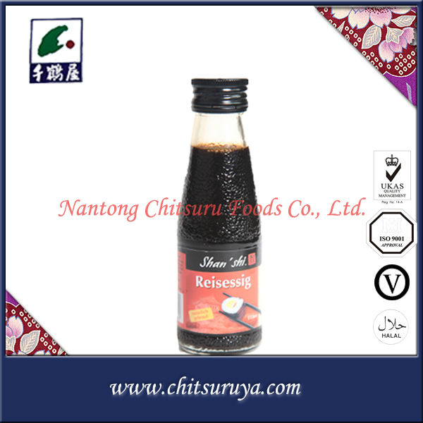 bulk and bottles white and black wine halal soy sauce