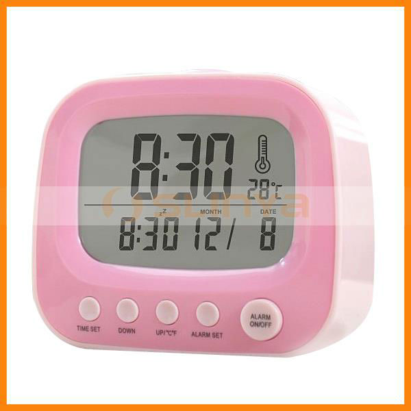 Electronic Digital LCD Alarm Clock