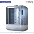 Hot sale big sizes steam plastic shower enclosure