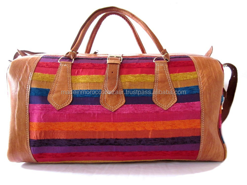 Amazing Handcrafted Genuine Leather And Aloe Vera Silk Handbags