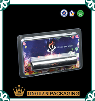 Lipstick packaging clamshell tray blister