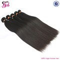 Wholesale YAKI straight hair,100% raw human virgin brazilian hair