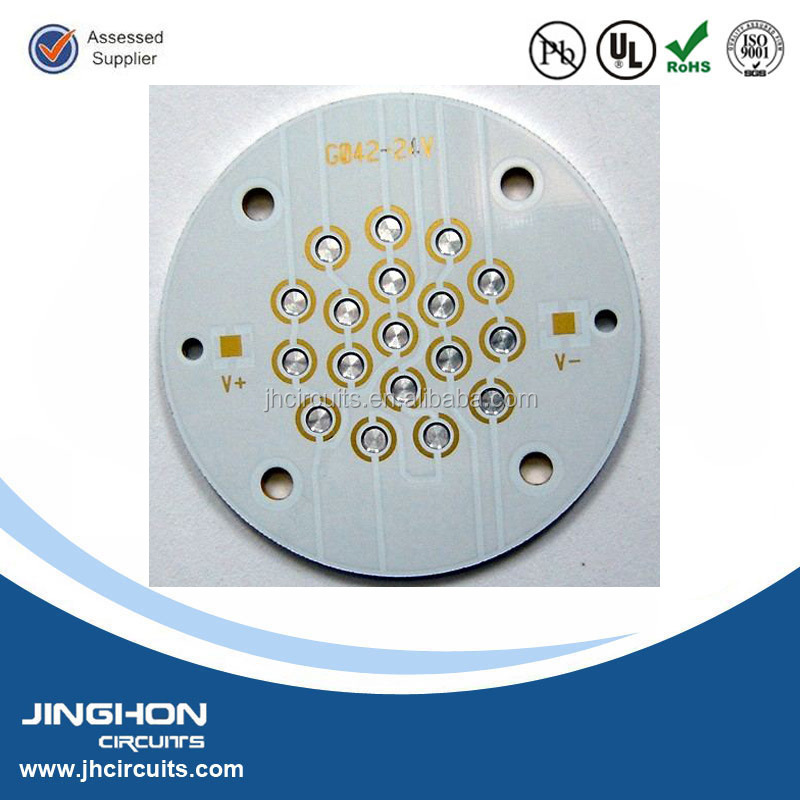 high power 1.2mm LED street light aluminum PCB