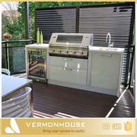 2018 Hangzhou Vermont New Zealand Outdoor Kitchen Island Design