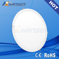 2015 Sept new promotion latest 50w 60x60 cm die cast round high power led panel light price list