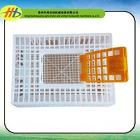 professional factory plastic poultry transport crate/box/coop/cage on sale