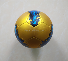 custom logo PU leather machine sewn promotional training footballs,match football with wrapped bladder