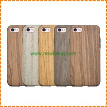 New Arrival Wood Grain silicone soft skin leather back cover case for iPhone 6 plus