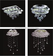 Newest crystal chandelier ceiling lamp pendant light home lighting