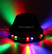 newest design 10w RGB rotating bluetooth music speaker christmas party christmas led bulb