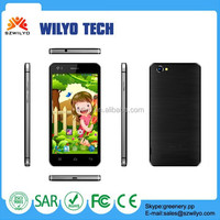 WI6F 5.0 inch Mtk 6582 Quad Core Smartphone 8Mp Buy Pear Phone