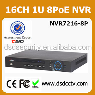 NVR7216-8P Dahua 16 channel 8PoE Network Video Recorder with usb 2.0 driver