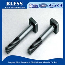 Refractory metal molybdenum nut bolt manufacturing process for smelting of lead