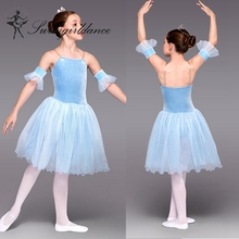 BL0019 Teen girl lyrical dress stage ballet competition dance costume