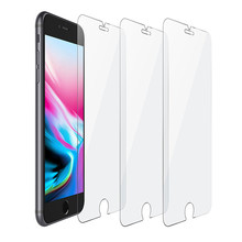 New arrival temper glass screen protector for iphone 7 plus 8 plus 2.5d mobile phone 9h tempered glass phone screen guard
